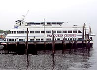 Click this photo of the Bay Queen Cruise ship to view slide show.