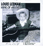 Louis Leeman - Wink of an Eye album cover